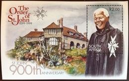 South Africa 1999 Order Of St John Mandela Minisheet MNH - South Africa (1961-...)