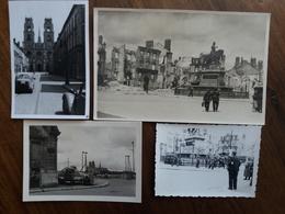 Photographies Originales Amateur Orléans 1940 Guerre Occupation 1939-45 - 1939-45