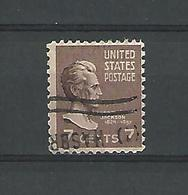 1921 / 40 ANDREW JACKSON  OBLITÉRÉ - Verenigde Staten