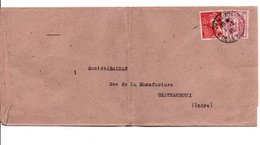 AFFRANCHISSEMENT COMPOSE SUR LETTRE DE Paris 101 1945 - Marcophilie (Lettres)