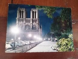 75 - Paris - Neige Sur Le Parvis De Notre Dame - Notre Dame De Paris