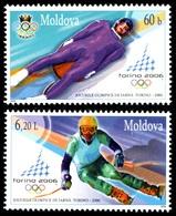 2006Moldova536-5372006  Olympic Games In Turin5,50 € - Winter 2006: Torino