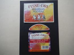 Beaujolais Nouveau Pisse-Dru 2002 - Caves Noémie Vernaux - Beaujolais