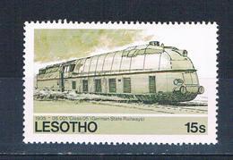 Lesotho 454 MNH Locomotive 1984 (L0695)+ - Lesotho (1966-...)