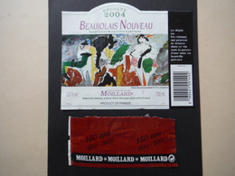 Beaujolais Nouveau 2004 - Moillard à Nuits Saint Georges - Beaujolais