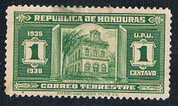 Honduras 328 MLH Masonic Temple 1935 (BP28316) - Honduras