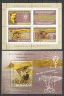 Romania 2006 Mi Blocks 370-371 MNH AIRPLANE - TRAIAN VUIA - Airplanes
