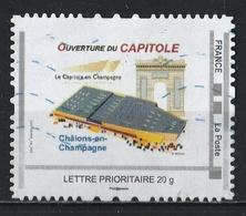 Timbre Personnalisé : Ouverture Du Capitole à Chalons-en-Champagne. - France