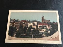 75 - TROYES Jardin De La Prefecture Et La Cathedrale - Troyes