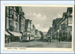 U8005-3260/ Rinteln Weserstr. Straßenbahn AK 1952 - Allemagne