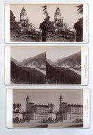 AK-2613/ 5 X TIROL Brenner See, Hall, Oberinntal....Stereofoto V Alois Beer~1900 - Photos Stéréoscopiques