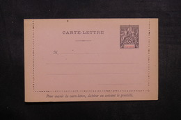 GUYANE - Entier Postal ( Carte Lettre ) Type Groupe Non Circulé - L 37968 - Guyane Française (1886-1949)