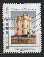 Timbre Personnalisé : Château De Vincennes. - France