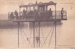 CPA -  2889. SAINT MALO - St Servan  -  Le Pont Roulant à Marée Haute - Saint Malo