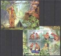BC529 2012 GUINE GUINEA-BISSAU SCOUTISME ESCOTISMO KB+BL MNH - Scoutisme