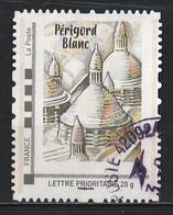 Timbre Personnalisé : Périgord Blanc. - France