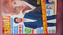 MAGAZINE SALUT N° 31. 1989 (Scan Sommaire) - People