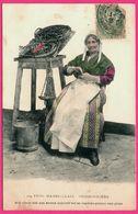 Type Marseillais - Poissonnière - Balance - Folklore - Femme - Phototypie GUENDE - 1906 - Colorisée - Old Professions