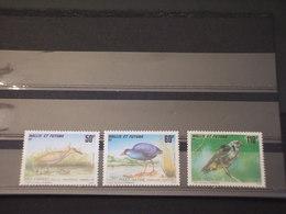 WALLIS E FUTUNA - 1993 UCCELLI 3 VALORI - NUOVI(++) - Wallis E Futuna