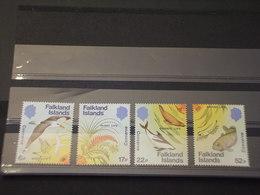 FALKLAND - 1984 FAUNA 4 VALORI - NUOVI(++) - Falkland