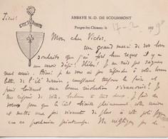 Abbaye N.D. De Scourmont, Forges, Chimay. - Documents Historiques