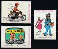 Petit Lot De 5 Autocollants Tintin. - Stickers