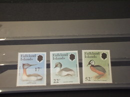 FALKLAND - 1984 FAUNA 3 VALORI - NUOVI(++) - Falkland