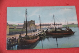 Ireland Co Galway Kinvara The Quay 1907 Ship To Altona USA - Other
