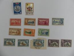 Tinidad & Tobago. Lot De 14 Timbres (11 Timbres Différents) Dont 9 Timbres Neufs Et 5 Timbres Oblitérés - Trinidad Y Tobago (1962-...)