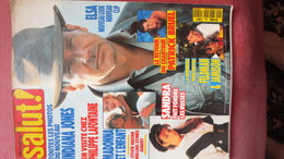 MAGAZINE SALUT N° 50. 1989.  (Scan Sommaire) - People