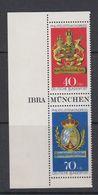 Germany 1973 Ibra 2v From M/s ** Mnh (44076A) - [7] West-Duitsland
