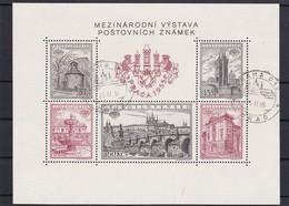 (K 4342) Tschechoslowakei, Block 16 A, Gest. - Blocks & Sheetlets