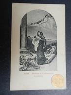 19969) ROMA MARTIRIO DI S. ALESSANDRO (LOVERINI) ANNO SANTO 1900 NON VIAGGIATA - Roma