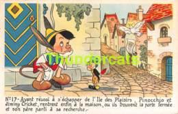 CPA WALT DISNEY PINOCCHIO - Disney