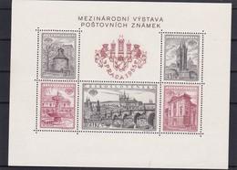 (K 4344c) Tschechoslowakei, Block 16 A** - Blocks & Sheetlets