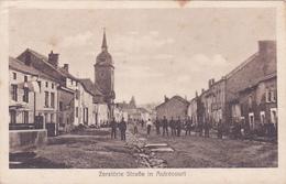 (08) - Autrecourt Strasse  Carte Allemande 1° Guerre - France