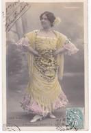 Photo Walery Paris -  L'Andalouse PAQUITA -  Folies-Bergère -  Dos Simple 1904 - Artistes