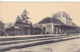 (08) - Rethel Bahnhof Gare   Carte Allemande 1° Guerre - Rethel