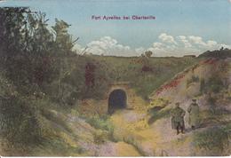 (08) - Bei Charleville FORT Ayvelles Couleur  Carte Allemande 1° Guerre - Charleville