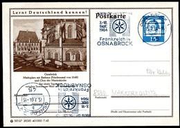 75987) BRD - P 81 - 29/215 - Ortsgleich OO Gestempelt - 4500 Osnabrück, Rathaus, Chor Der Marienkirche - [7] République Fédérale