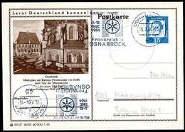 75988) BRD - P 81 - 29/215 - Ortsgleich OO Gestempelt - 4500 Osnabrück, Rathaus, Chor Der Marienkirche - BRD
