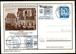 75989) BRD - P 81 - 29/215 - Ortsgleich OO Gestempelt - 4500 Osnabrück, Rathaus, Chor Der Marienkirche - BRD