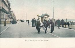 CPA - Belgique - Heist - Heyst - Sur La Digue - Heist