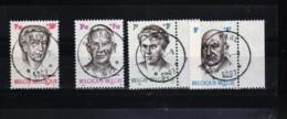 BELGIQUE . Timbres - Série N° 1557/1560 - Obliteration Relais St-MARC - Poststempel