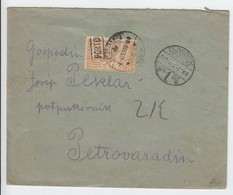 Jugoslawien .  Alter  Brief Mit Portomarken - 1931-1941 Royaume De Yougoslavie