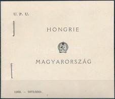 ** 1949 UPU Speciális Füzet 2. Változat, Rendkívül Ritka !! (270.000) - Unclassified