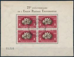 O 1950 UPU Blokk (140.000) - Timbres