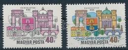 ** 1969 Dunakanyar 40f, Látványos Tévnyomat: Hiányzó Kék és Sárga Színnyomatok. A Szakirodalomban és A Bélyegkereskedele - Unclassified