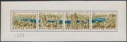 ** 1961 Panoráma Kisív Fogazott  (90.000) (ritka Jó Minőségű Kisív / Extremely Good Quality) - Stamps