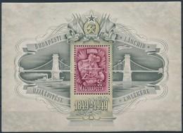 ** 1949 Lánchíd III. Blokk (80.000) - Timbres